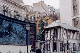 Some of the neighbouring buildings on rue Victor Masse. I believe there must have been a cabaret here once!