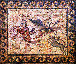 Roman mosaic from Antioch 2nd century