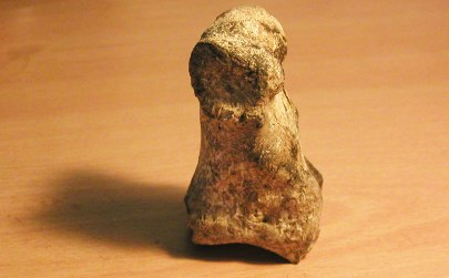 Ancient Fertility Goddess effigy of bone