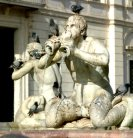 detail from Piazza Navona fountains
